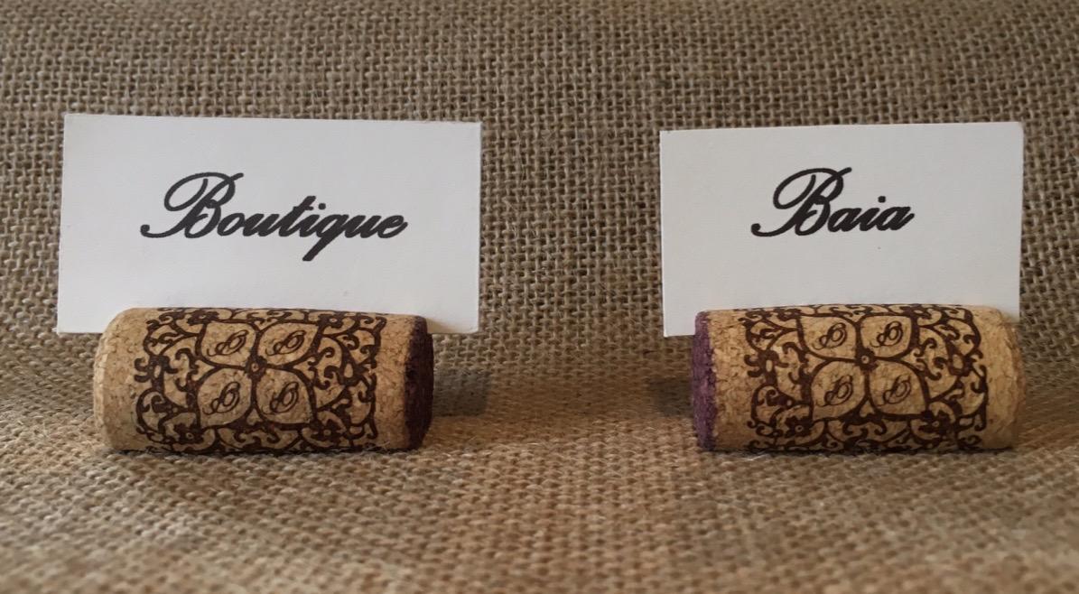 marque place en bouchons de li ge d co mariage fait main. Black Bedroom Furniture Sets. Home Design Ideas