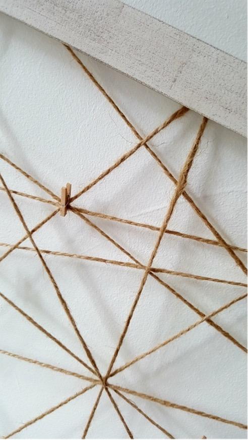 p le m le photo corde naturelle d co fait main boutique baia. Black Bedroom Furniture Sets. Home Design Ideas